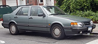 Saab 9000 - Image: 1990 Saab 9000 CD non turbo