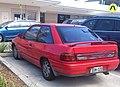 1991 Ford Laser (KH) TX3 3-door hatchback (2012-12-24) 02.jpg
