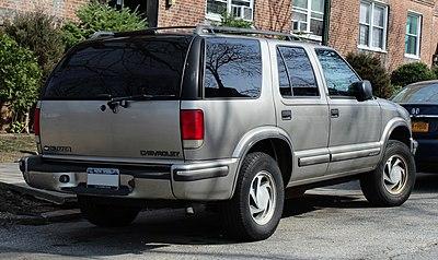 Chevrolet S 10 Blazer Wikiwand