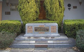 Gordon, New South Wales - War Memorial and Council Chambers