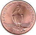 1 lek of Albania in 2008 Reverse.png