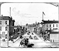 1st Ave S looking north from Jackson St, 1886 (SEATTLE 3045).jpg