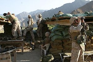 2nd Battalion, 3rd Marines - 2/3 Marines in Afghanistan in late 2005