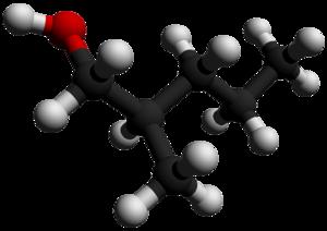2-Methyl-1-pentanol - Image: 2 Methyl 1 pentanol 3D balls by AHRLS 2012