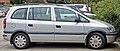 2001-2003 Holden Zafira (TT) van (2010-07-05) 02.jpg