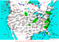 2003-05-23 Surface Weather Map NOAA.png