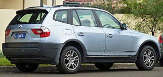 BMW X3 - Pre-facelift BMW X3 2.5i