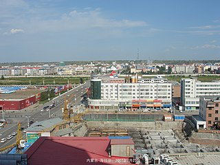 Hailar District District in Inner Mongolia, Peoples Republic of China