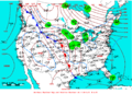 2007-02-06 Surface Weather Map NOAA.png