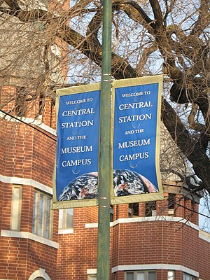 Near South Side, Chicago - Museum campus banner