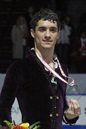 Javier Fernández (figure skater) - Fernandez at the 2011 Skate Canada International.