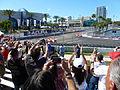 2012 Honda Grand Prix of St. Petersburg Helio Castroneves victory lap.JPG