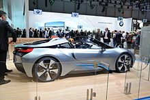Bmw I8 Concept Spyder 2017 Edit