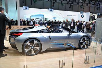 BMW i8 - BMW i8 Concept Spyder