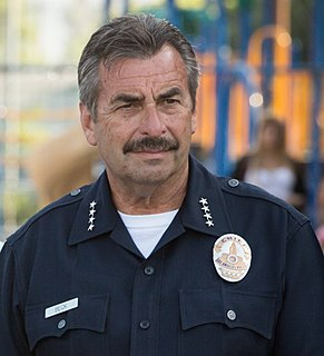 Charlie Beck Chief of the Los Angeles Police Department