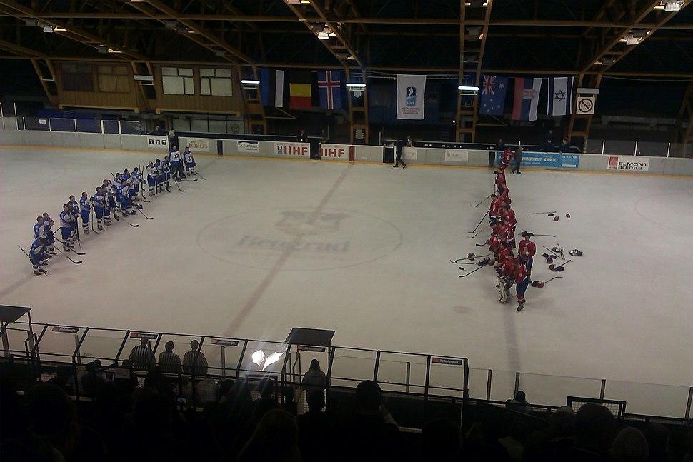 2014 IIHF World Championship Division II Serbia - Israel (13)