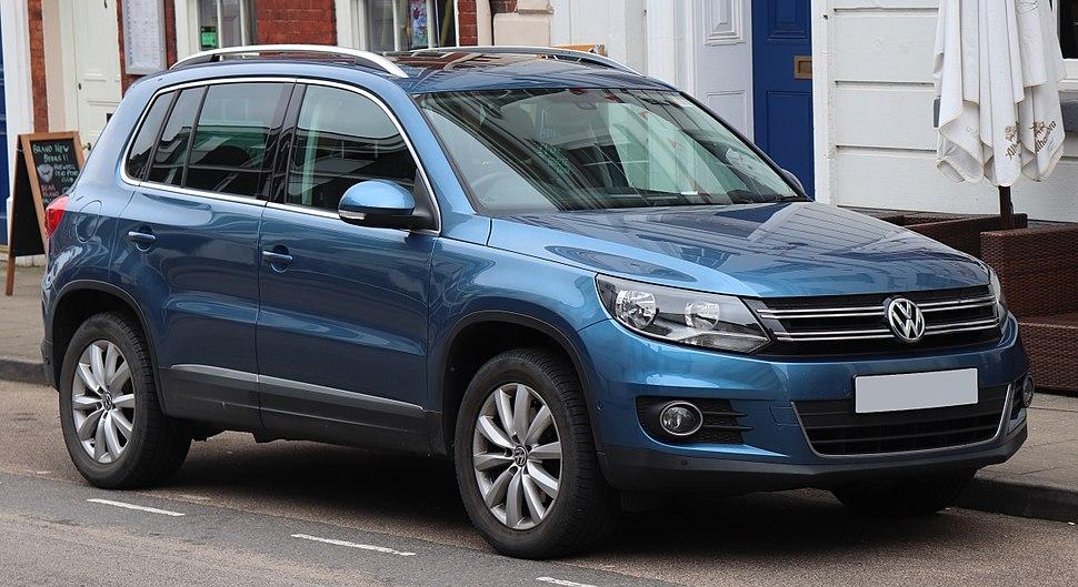 2014 Volkswagen Tiguan Match TDi BMT 4motion 2.0 Front