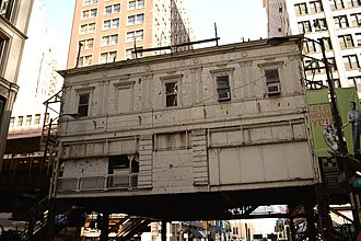 Madison/Wabash station - Image: 2015 03 14 6300x 4200 chicago madison wabash cta station house
