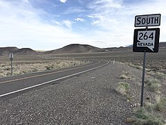 2015-04-29 18 02 03 View south from the north end of Nevada State Route 264 (Dicalite Cutoff) in Esmeralda County, Nevada.jpg