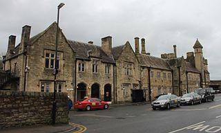 Lancaster railway station Railway station in Lancashire, England