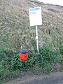 2016-01-05 Dog waste bin, Trimingham Beach.JPG