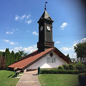 Neufeld an der Leitha - Clock tower