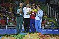 2016 Paralympics judo women 70 kg podium 3.jpg