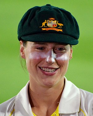 Ellyse Perry - Perry during the Women's Ashes Test in 2017