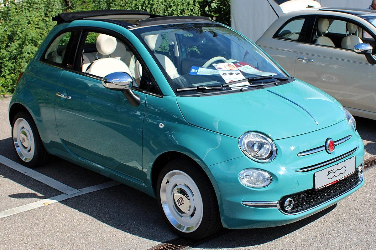 Fiat 124 Spyder >> Fiat 500 (2007) - Vikipedi