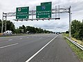 2019-06-18 14 09 53 View north along Interstate 270 (Washington National Pike) at Exit 32 (Interstate 70, Hagerstown, Baltimore) in Ballenger Creek, Frederick County, Maryland.jpg