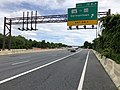 2019-06-18 14 51 24 View south along Interstate 270 (Washington National Pike) at Exit 15B-A (Maryland State Route 118, TO Maryland State Route 355, Germantown) in Germantown, Montgomery County, Maryland.jpg