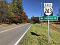 2019-10-28 13 32 54 View east along Virginia State Route 263 (Orkney Grade) just east of Happy Valley Road in Orkney Springs, Shenandoah County, Virginia.jpg