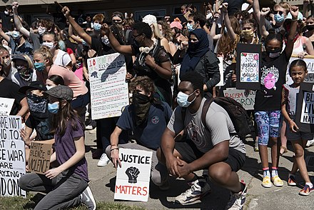 Protest Black Lives Matter, From WikimediaPhotos