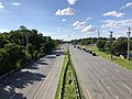 2020-06-21 17 40 45 View north along Maryland State Route 2 (Governor Ritchie Highway) from the overpass for Maryland State Route 100 (Paul T Pitcher Memorial Highway) on the edge of Glen Burnie and Pasadena in Anne Arundel County, Maryland.jpg