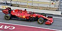2020 Formula One tests Barcelona, Ferrari SF1000, Leclerc.jpg