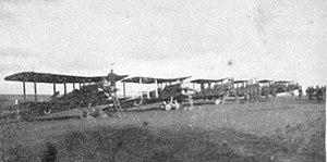 20th Aero Squadron - 20th Aero Squadron - Airco DH-4s