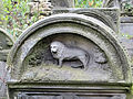 251012 Detail of tombstones at Jewish Cemetery in Warsaw - 10.jpg