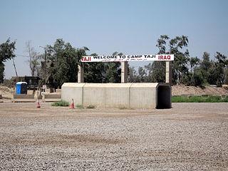 Camp Taji Place in Baghdad Governorate, Iraq