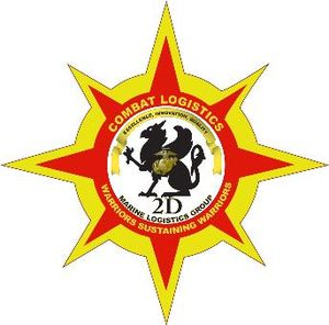 logo for 2nd Marine Logistics Group Category:U...