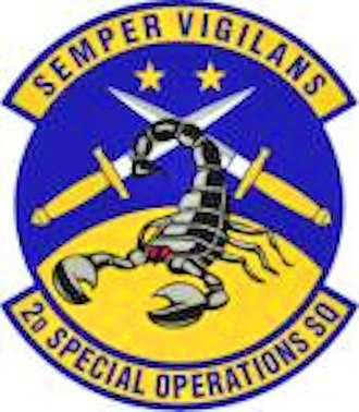 2d Special Operations Squadron - Image: 2d Special Operations Squadron Emblem