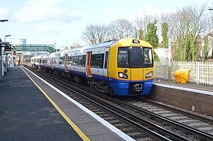 Wandsworth Road railway station - Image: 30.01.13 Wandworth Road 378.153 (8429711503)