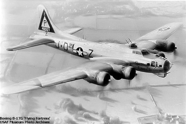 Photograph of a Boeing B-17G Flying Fortress