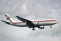 42aq - Egypt Air Airbus A300-622R; SU-GAR@ZRH;10.10.1998 (5362879811).jpg