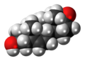 5-Dehydroepiandrosterone 3D spacefill.png
