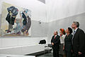 5. Juli 2011 Kunst im Fraktionssaal - Gregor Gysi stellt künstlerisch umgestalteten Clara-Zetkin-Saal vor (3).jpg
