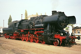 DR Class 52.80 - Image: 52 8087 RAW Berlin 03.10.92
