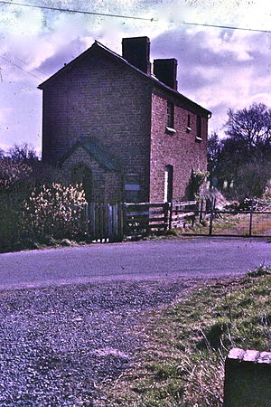Shropshire and Montgomeryshire Railway - Shoot Hill in 1967