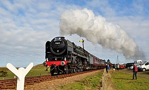 70013 Storms the climb out of Sheringham - geograph.org.uk - 1755526.jpg