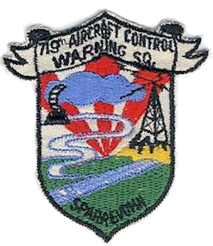 Sparrevohn Air Force Station - Emblem of the 719th Aircraft Control and Warning Squadron