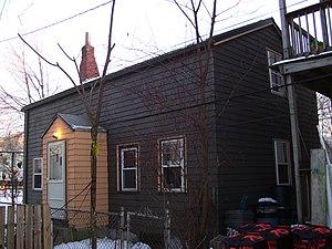 House at 72R Dane Street - Image: 72R Dane Street in Somerville MA